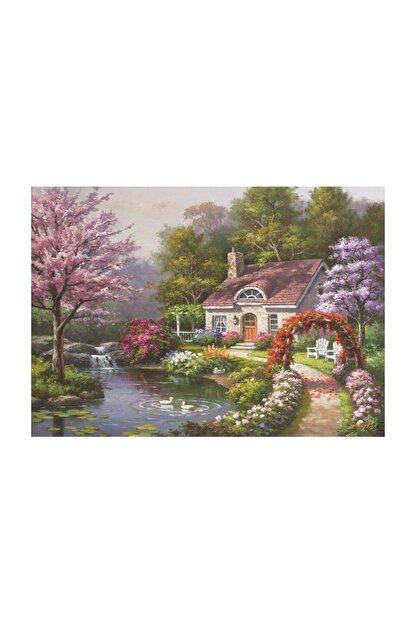 Anatolian Puzzle Çiçekli Ev 1500 Parça 4556