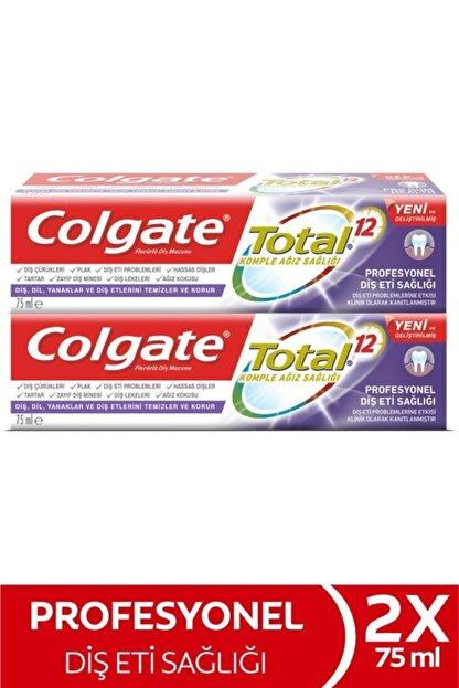 Colgate Total Profesyonel Diş Eti Sağlığı Diş Macunu 2 X 75 ml