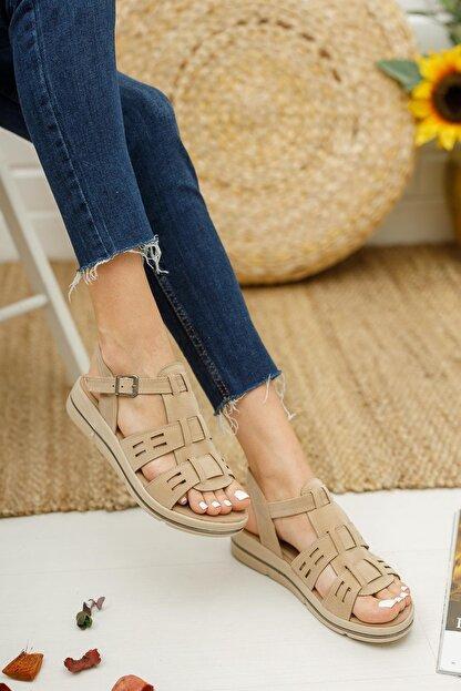 Muggo Mglily07 Kadın Günlük Sandalet