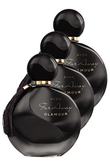 Avon Far Away Glamour Kadın Parfüm Edp 50 ml 3'lü Set 5050000102421