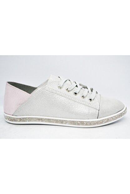 WARHOL SHOES Kadın Gümüş Spor Ayakkabı