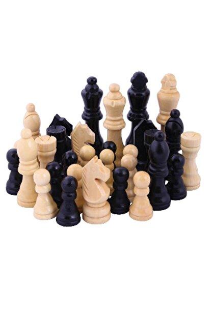 Star Oyun Satranç Taşları - Ahşap - 30288 /