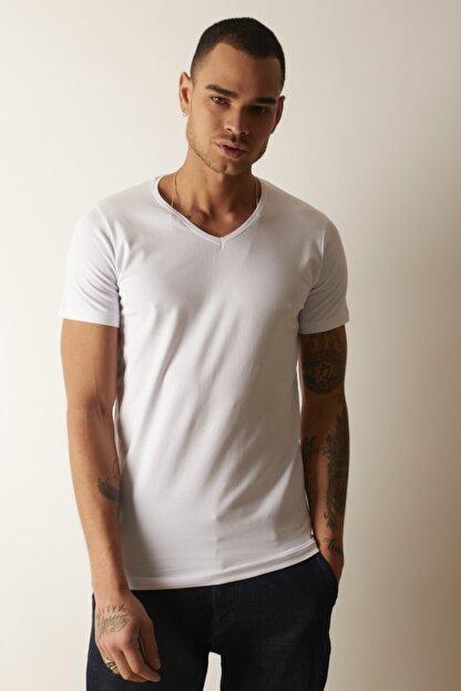 TRICKO Basic V Yaka Tişört