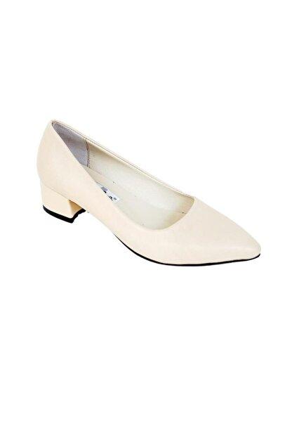 Ustalar Ayakkabı Çanta Ten Kadın Hakiki Deri Stiletto 364.2770