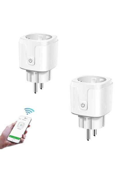 DEHALİMİTED Ios Ve Android Telefon Uyumlu Sesli Kontrollü Wifi Akıllı Priz 16 Amper