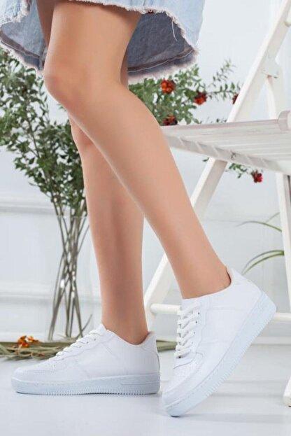 Elipos Kadın Beyaz Spor Ayakkabı