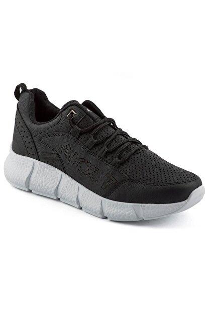L.A Polo 021 Siyah Beyaz Erkek Spor Ayakkabı