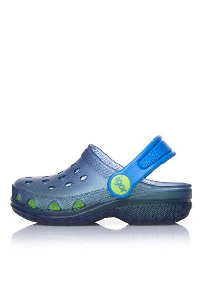 IGOR S10116 Poppy Çocuk Mavi Yeşil Sandalet