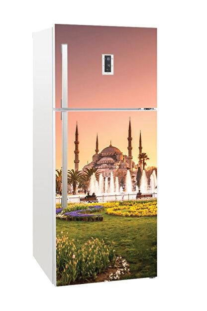 Tilki Dünyası Buzdolabı Kapağı Kaplama Sticker 0060 BUZS000060