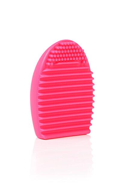 Inglot Makyaj Fırçası Temizleyicisi - Makeup Brush Scrubber Pink 5907587186408