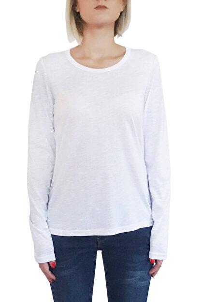 Mof Basics Kadın Beyaz T-Shirt UKSYT-B