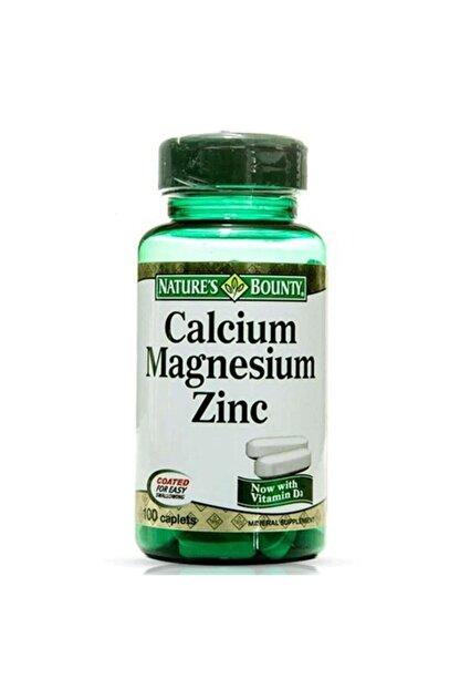 Natures Bounty Calcium Magnesium Zinc 100 Tablet