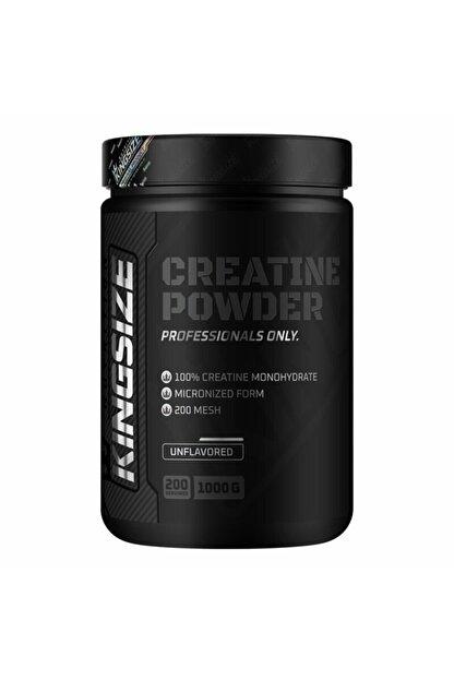 Kingsize Nutrition Creatine Powder 1000 Gr Aromasız