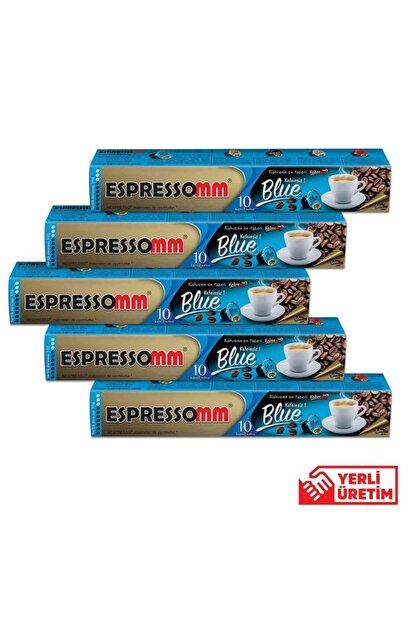 ESPRESSOMM Nespresso Uyumlu Blue Kapsül Kahve - Kafeinsiz! (50 ADET)