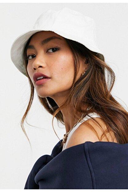 Y-London 13372 Beyaz Bucket Şapka