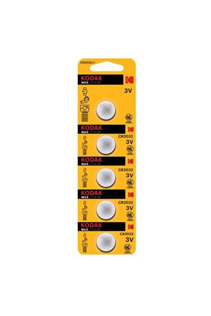 Kodak Cr2032 3 Volt Ultra Lityum Para Pil Pakette 5 Adet Bulunur