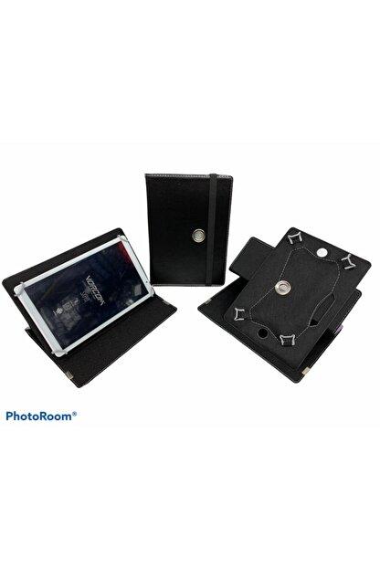"Aksesuar Fırsatı Vorcom S12 10.1"" Dönebilen Standlı Tablet Kılıfı - Siyah"