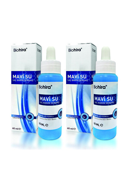 Bio Hira Biohira Mavi Su Saç Bakım Serumu 60 Ml 2 Adet