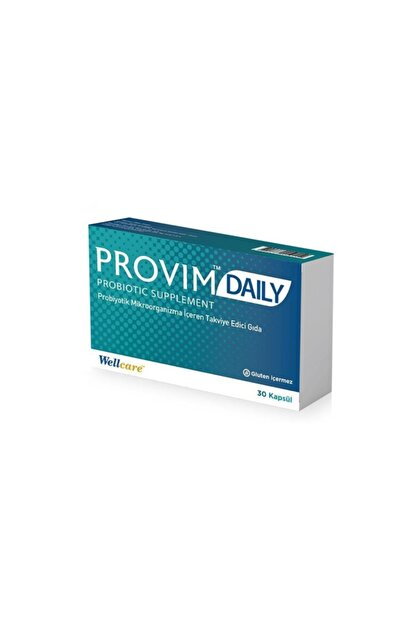 Wellcare Provim Daily 30 Kapsül Probiyotik