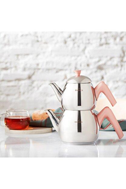 Karaca Merkür Small Rose Çaydanlık Takımı