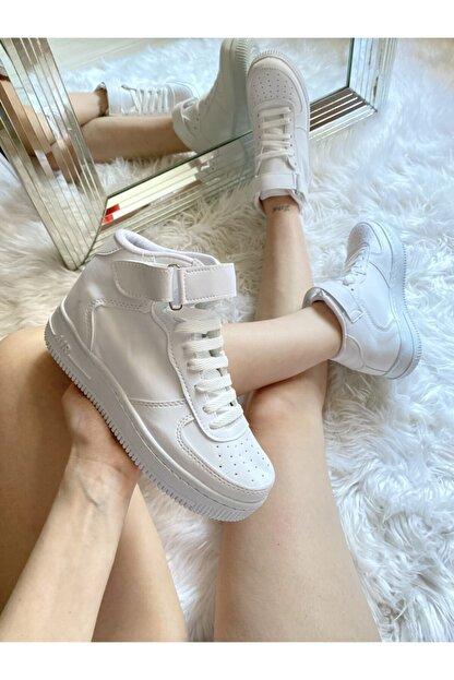 ELSESHOES Kadın Beyaz Spor Ayakkabı