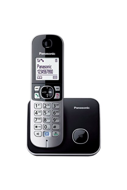Panasonic Kx-tg6811 Siyah Telsiz Dect Telefon Elektrik Kesintisinde Konuşabilme