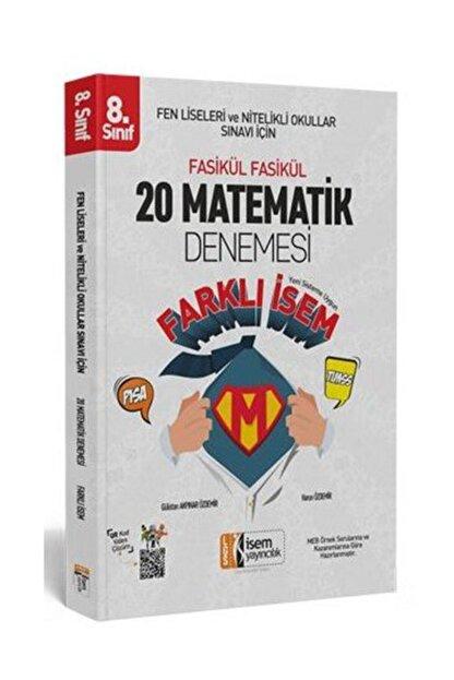 İsem Yayıncılık Lgs Matematik 20 Li Sarmal Deneme Farklı Isem