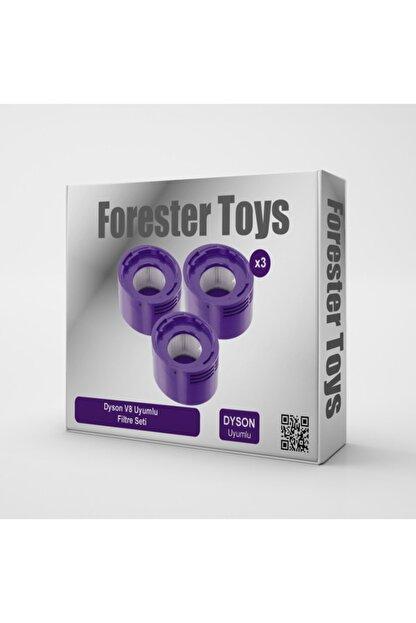 Forester Toys Dyson V7 V8 Akülü Süpürge Filtresi