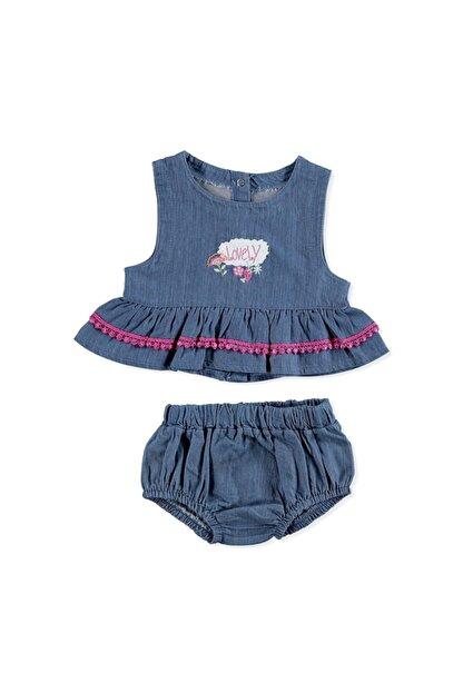 HelloBaby Kız Bebek Ilk Yaz Tema Atlet-külot Takım