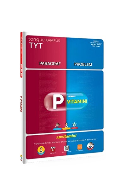 Tonguç Akademi Tonguç Tyt P Vitamini Parağraf Ve Problemler