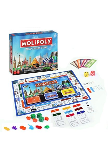 Hasbro Molipoly Emlak Ticareti Oyunu