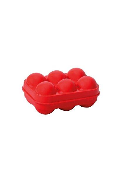 Nurgaz Yumurta Saklama Kutusu Kırmızı