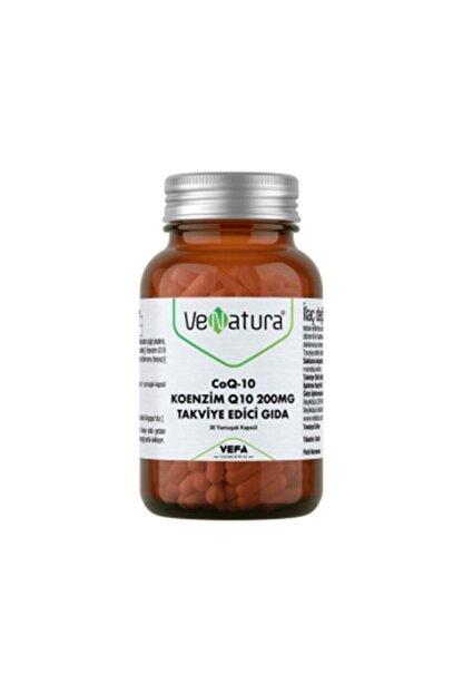 Venatura Coq-10 Koenzim Q10 200 Mg Takviye Edici Gıda 30 Kapsül