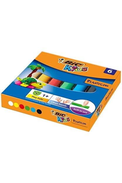 Bic Plastelina Kurumayan Oyun Hamuru 6 Renk
