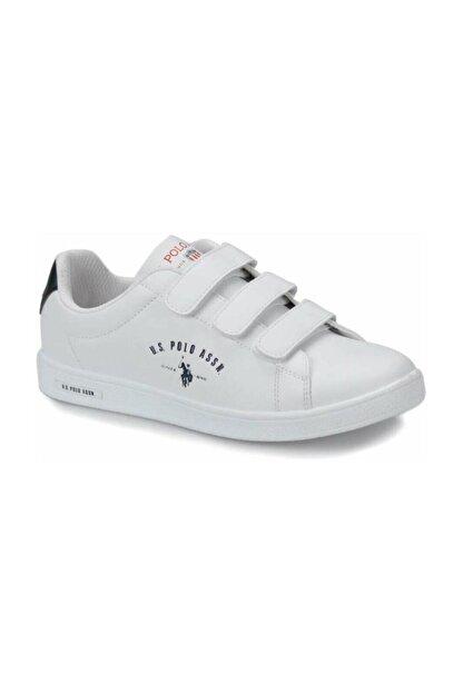 US Polo Assn Kadın Ayakkabı 8p Singer Beyaz/white 20s048psinger