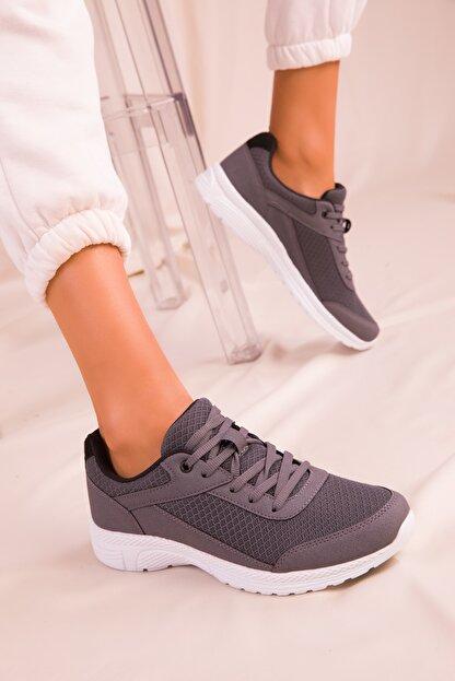Soho Exclusive Füme Kadın Sneaker 15930