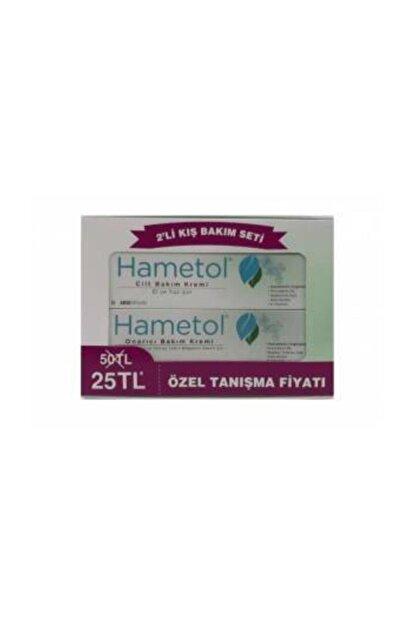Hametol Cilt Bakım Kremi 30g + Onarıcı Bakım Kremi 30g