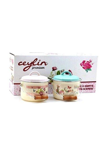 CEYLİN Premium 14 Cm Emaye Bakraç