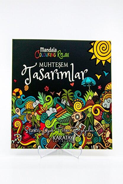 easyso Mandala Muhteşem Tasarımlar Boyama Kitabı Yetişkin Boyama 72 Syf