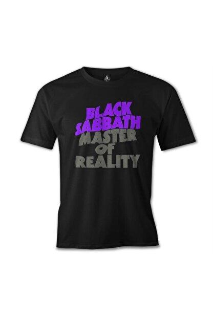 Lord T-Shirt Erkek Siyah Black Sabbath - Master Of Reality Baskılı T-shirt