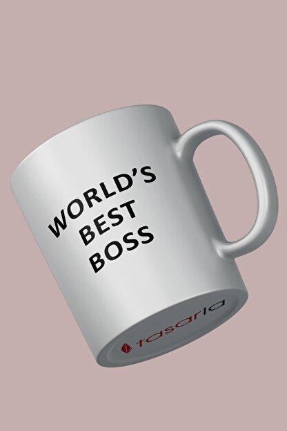 tasarla The Office - Worlds Best Boss Kupa Bardak