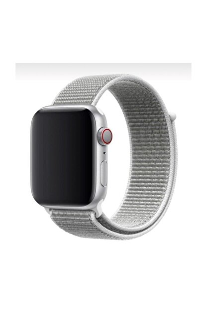 Mahzen Apple Watch 1-2-3-4-5 Serisi ( 42mm - 44mm ) Uyumlu Spor Loop Kordon