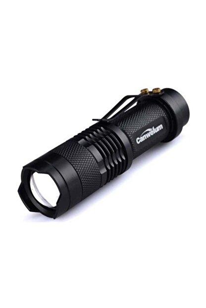 Kama Km-87 Şarjlı Mini Led El Feneri Cree Led 2300 Lumens