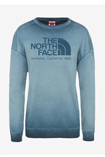 The North Face Washed Kadın Uzun Kollu Tişört Mavi