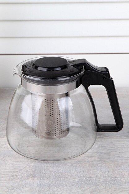 Perotti - Sefa Perotti Süzgeçli Cam Demlik 900 ml Kahve ve Bitki Çay Tea Pot Çaydanlık