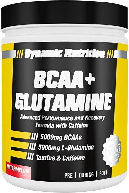 Dynamic Nutrition Dynamic Bcaa + Glutamine 300 Gr (karpuz Aromalı)
