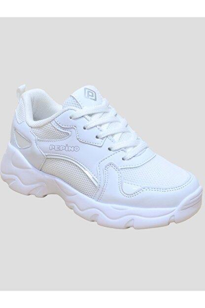 Nokta Kız Çocuk Bağcıklı Sneakers Ayakkabı