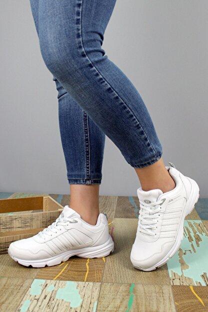 MP Kadın Beyaz Spor Ayakkabı  M.p. 202-6923zn