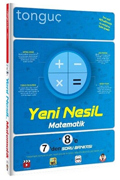 Tonguç Akademi Yeni Nesil Matematik 7'den 8'e Soru Bankası (7 Ve 8.sınıf)
