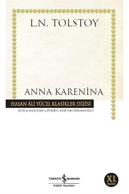 TÜRKİYE İŞ BANKASI KÜLTÜR YAYINLARI Anna Karenina (ciltsiz)